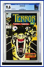 Terror Inc. #2 CGC Graded 9.6 Marvel August 1992 White Pages Comic Book