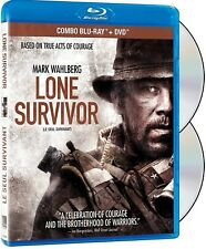 LONE SURVIVOR (MARK WAHLBERG) *NEW BLU-RAY + DVD*