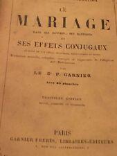 P. GARNIER - LE MARIAGE