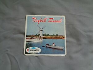 HARD TO FIND SAWYERS VIEWMASTER PACKET REF C275 NORFOLK BROADS
