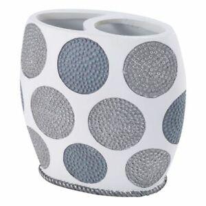 Avanti Linens Dotted Circles Toothbrush Holder