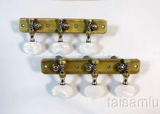 Classical Flamenco Guitar Bronze plated machine head tuner peg 403AB-P2W