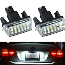2pc License Plate LED Light Lamp For Toyota Camry Prius Yaris Vitz Avensis