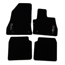Fiat 500L Genuine Floor Carpet Mats Black Auto Gearbox New Genuine 59137226