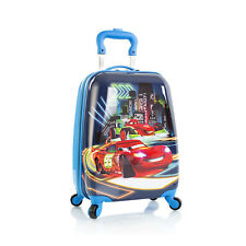 New Disney Pixar Cars Spinner Hard Luggage Case Night Lights