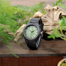 New Wooden watches green wood dial quartz watch bobo bird brand Christmas Gift