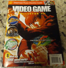 Video Game Collector magazine #11 Dreamcast Special Ddr Silent Hill Ultra Rare!