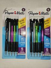 2 Packs Paper Mate Write Bros Mechanical Pencils 2 Comfort Grip 1 7mm 5 Pack