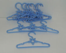 "10 BLUE Star Doll Clothes Hangers For Dianna Effner 13"" Little Darling (Debs"
