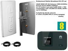 Cellulare Bandalarga Antenna Booster Aereo LTE 4G 3G 2G Huawei E5372 1800 2100