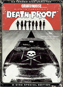 Death Proof (DVD, 2007, 2-Disc Set, Widescreen Extended Directors Cut)