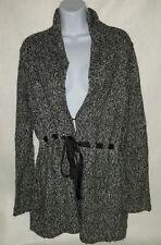 Women's Maternity Gray Cardigan Sweater Size Large