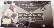 2007-08 Upper Deck Black Diamond Hockey HOBBY Box Rookie Gem Auto Quad?