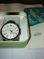 Fossil Grant FS4735 Chronograph Gent's Stainless Steel 5ATM/165ft Watch