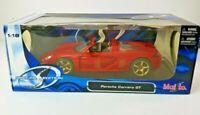 Porsche Carrera GT Red 1:18 Die-cast Car Maisto Special Edition🚗🚗