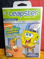 SpongeBob SquarePants Saves the Day - LeapFrog Leapster - Brand New