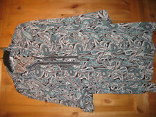 """Myline Damen Bluse Gr.54 bunt gemustert getragen gepflegt """"Frühling-Sommer"""""""