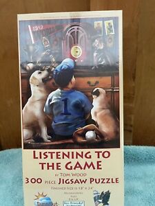 Listening to the Game 300 piece puzzle 18 x 24