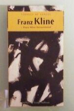 strokes of genius  FRANZ KLINE remembered dustin hoffman narrated VHS VIDEOTAPE