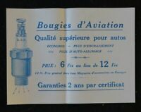 Brochure commerciale BOUGIES D'AVIATION B3H sparkplug