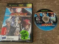 King of Fighters: Neowave (Microsoft Xbox, 2006) No Manual, Tested