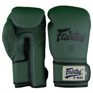 "Fairtex ""F-DAY"" Muay Thai Style Training Gloves - BGV11 - Handmade in Thailand"