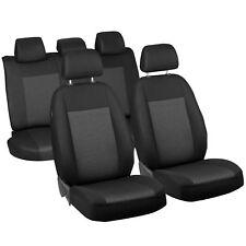 Schwarz-graue Dreiecke Classic Sitzbezüge für BMW X3 Autositzbezug Set