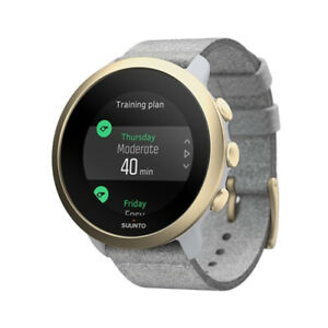 SUUNTO 3 Pebble White Light Gold Sports GPS Watch