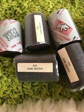 Persa 100% Wool Latch Hook Rug Yarn Lot Of 7 Dark Brown