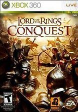The Lord of the Rings: Conquest (Microsoft Xbox 360, 2009)-Complete