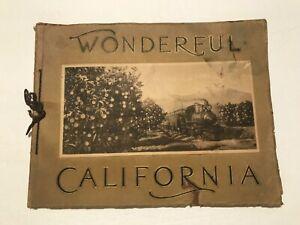 Wonderful California Southern Pacific Railroad Scenic Booklet 1915