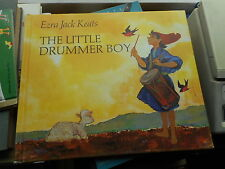 Ezra Jack Keats: The little drummer boy 1968 hardcover Macmillan illustriert