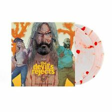 ROB ZOMBIE DEVILS REJECTS WHITE WITH RED BLOOD SPLATTER VINYL 2LP LIMITED SEALED