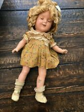 """VINTAGE 1930's Shirley Temple Doll 13"""""""
