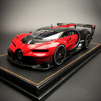 New 1/18 Autoart Bugatti Vision GranTurismo VGT open close car model Red carbone