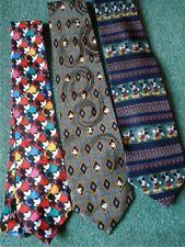 Disney Parks & Other Mickey Mouse & Other Disney Ties/Neckties+$10 Bonus Pen!