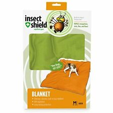 Insect Shield Repellent Gear Green Dog Blanket - Medium 56 L x 48 W - New