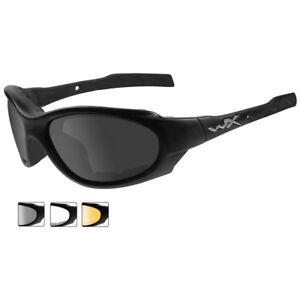 Wiley X Xl-1 Advanced Glasses 3 Ballistic Antiscratch Lenses Matte Black Frame