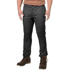 Men's Burton Sawyer Chino Pants Khakis Phantom Size 33 x 32