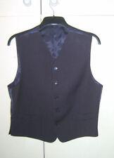 Unbranded Polyester Short Sleeve Formal Waistcoats for Men