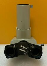 Nikon Type T Trinocular Camera Mount Head Accepts 23mm Eyepieces Tested