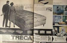 PUBLICITÉ 1964 TRÉCA CAD MATELAS SOMMIERS - ADVERTISING