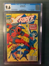 X-Force #11 CGC 9.6 Newsstand Variant! 1st Appearance Domino! Rare Gem!