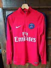 PSG 16/17 away Football Shirt (M) Soccer Jersey Nike paris saint German Red