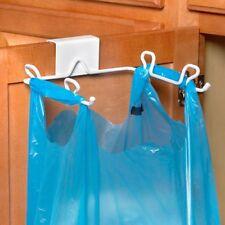 Spectrum 65400 Over-The-Cabinet/Drawer Trash Bag Holder, White