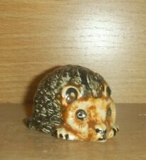 Vintage Small Hedgehog Ceramic Ornament