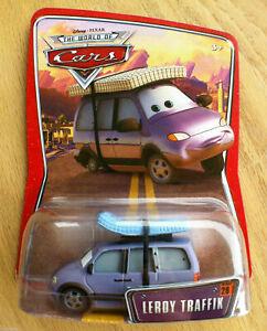 CARS - LEROY TRAFFIK - Mattel Disney Pixar