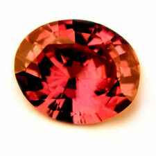 Certified Natural Untreated & Unheated 0.37ct Ruby Oval Cut VVS Clarity