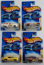 4 Hot Wheels Cereal Crunchers Pontiac GTO Lincoln Continental Plymouth GTX 2004