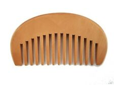 Handmade wide tooth wood comb no-static mustache comb beard comb gifts wholesale